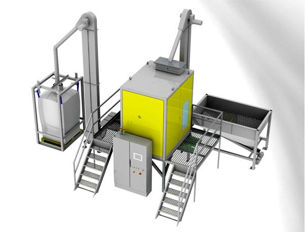 Электростатические сепараторы пластика Hamos WRS