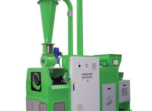 Установка для переработки отходов кабеля Reco Mill 50